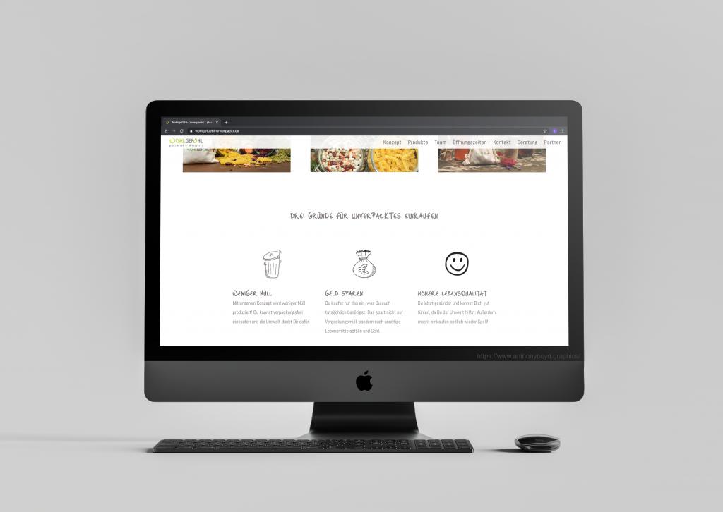 Wohlgefühl Website